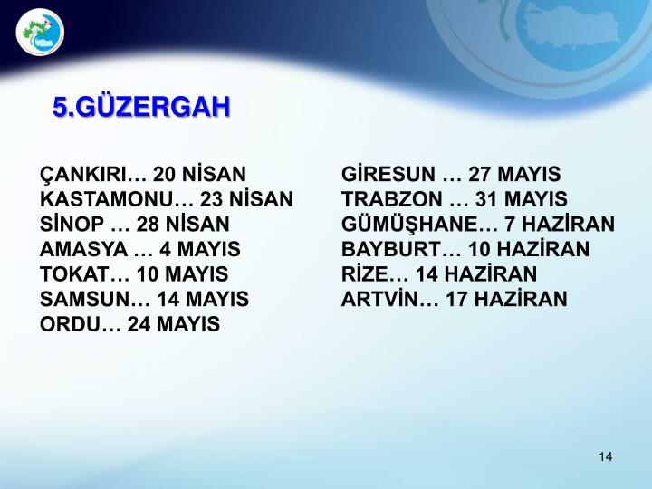 5.GÜZERGAH