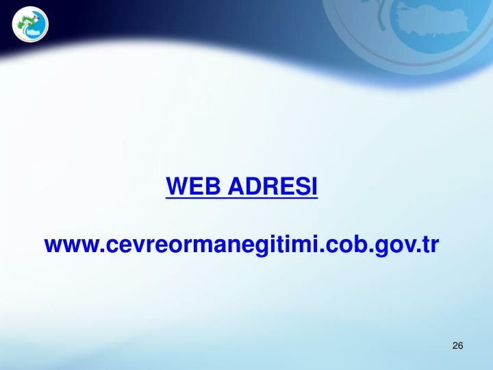 WEB ADRESI
