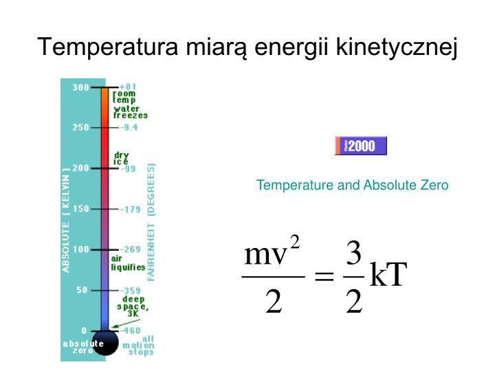 Temperatura miarą energii kinetycznej