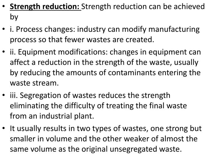 Strength reduction: