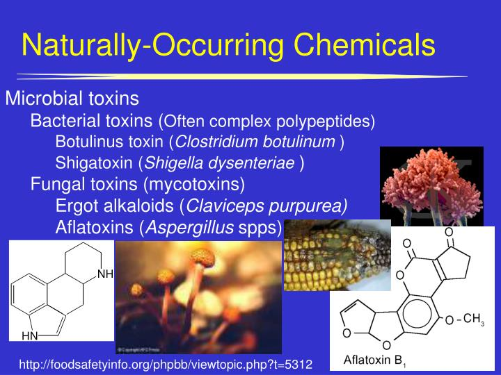 Naturally-Occurring Chemicals