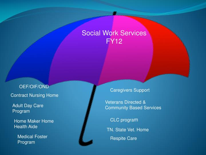 Social Work Services FY12
