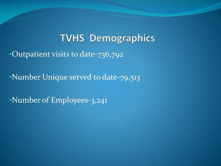Tvhs demographics
