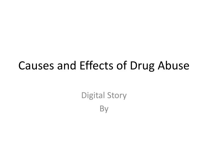 cause and effect of drugs Most people tolerate these drugs very well however, as is true with all drugs, some people develop side effects well-known side effects.