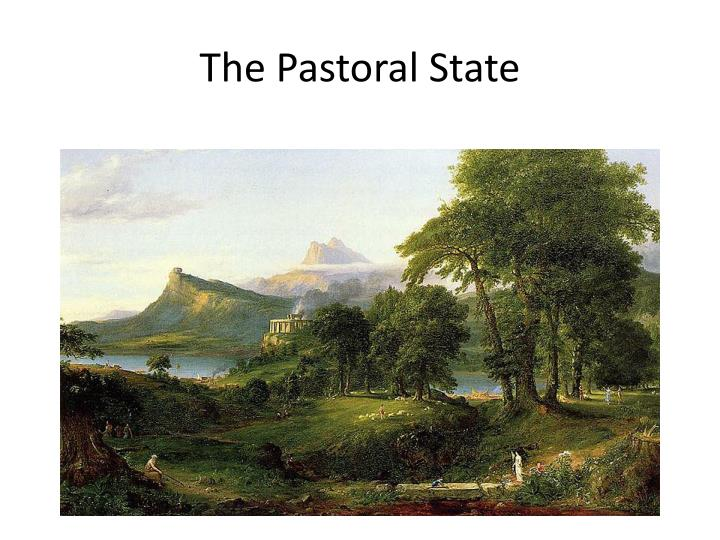 The Pastoral State