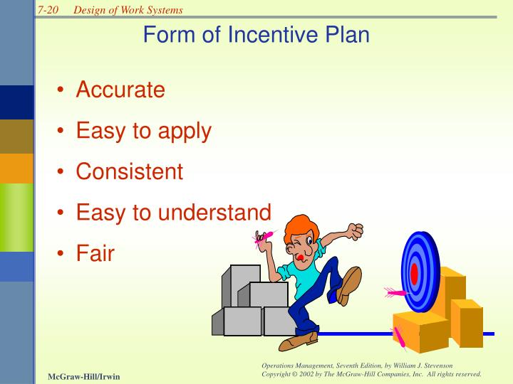 Form of Incentive Plan