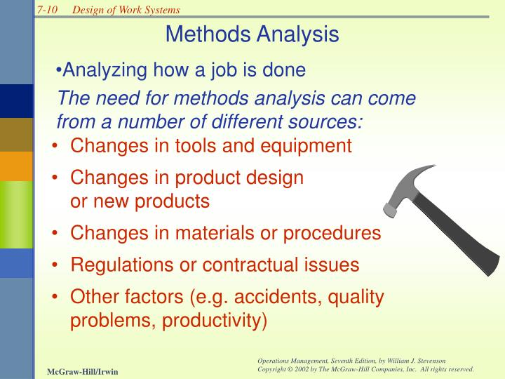 Methods Analysis