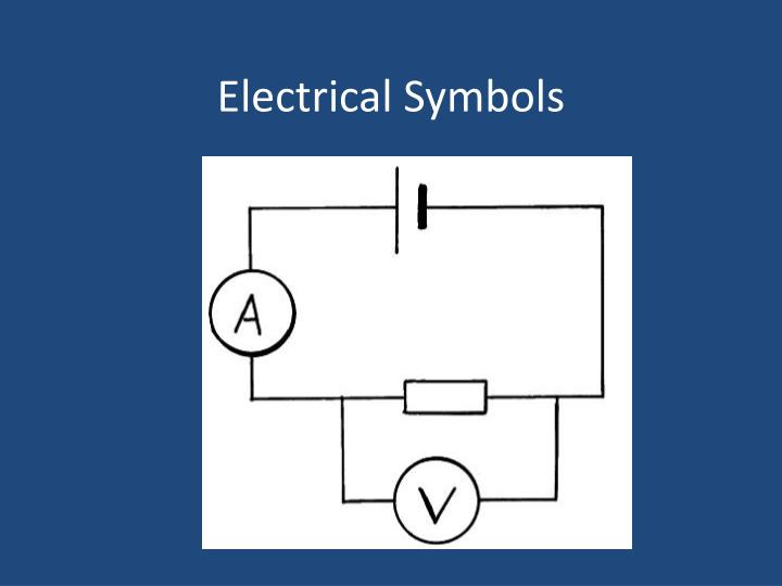 Ppt Electrical Symbols Powerpoint Presentation Id1801559