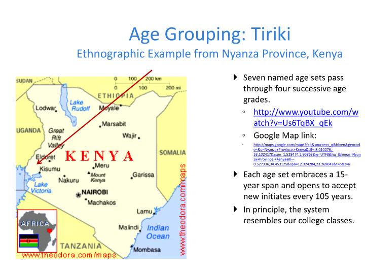 Age Grouping: