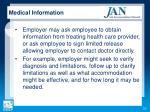 medical information1