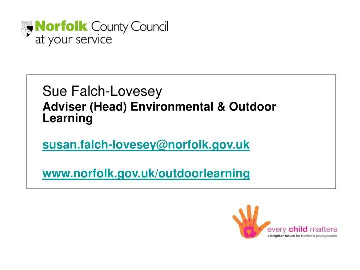 Sue Falch-Lovesey