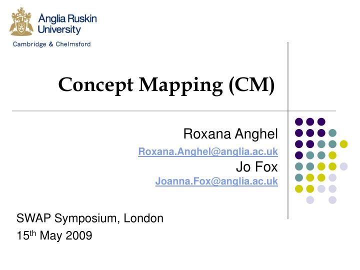 concept mapping cm n.