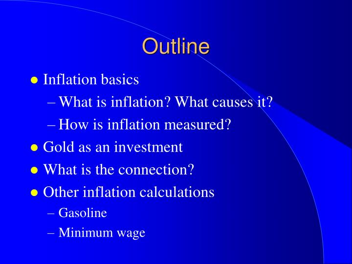 minimum wage outline