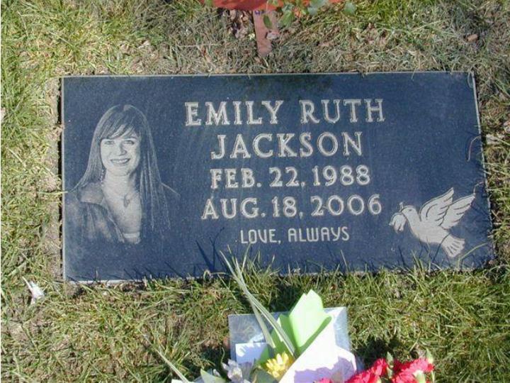 Emily jackson 1988 2006