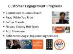 customer engagement programs