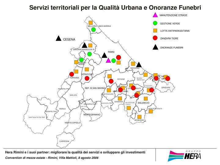 Servizi territoriali per la Qualità Urbana e Onoranze Funebri
