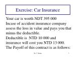 exercise car insurance