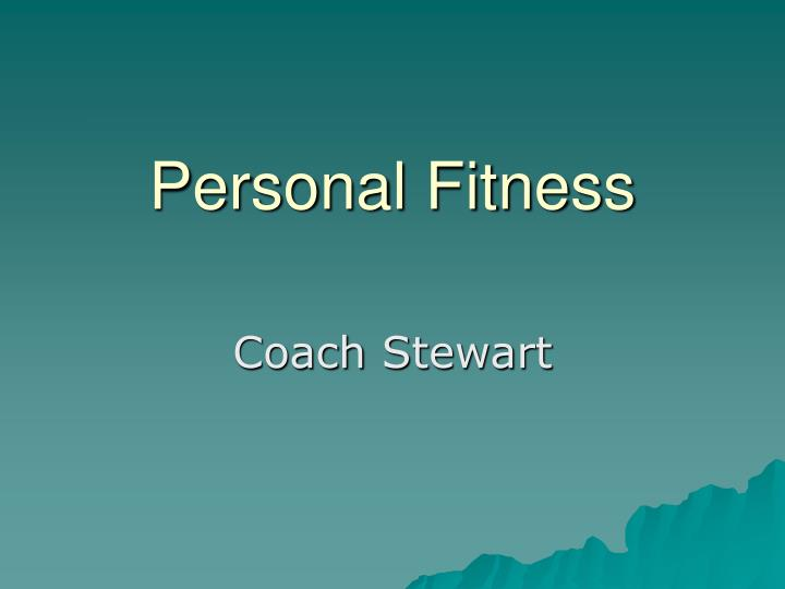 personal fitness n.