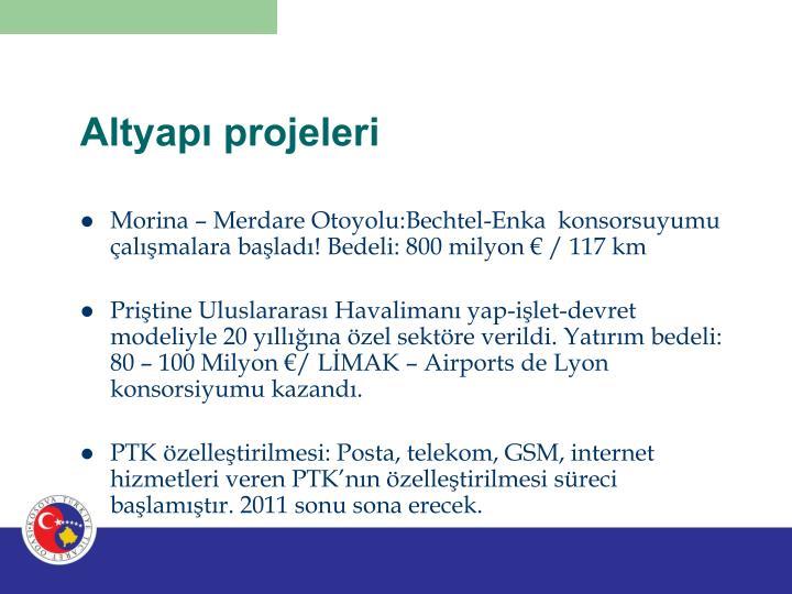 Altyapı projeleri