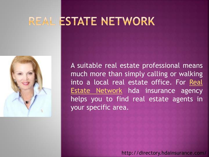 real estate network n.