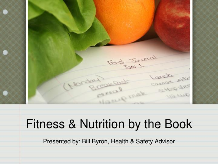 Fitness nutrition by the book