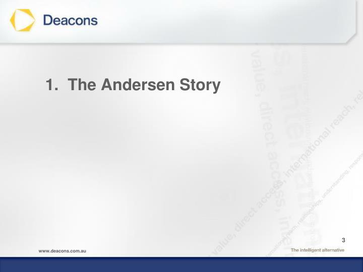 1 the andersen story