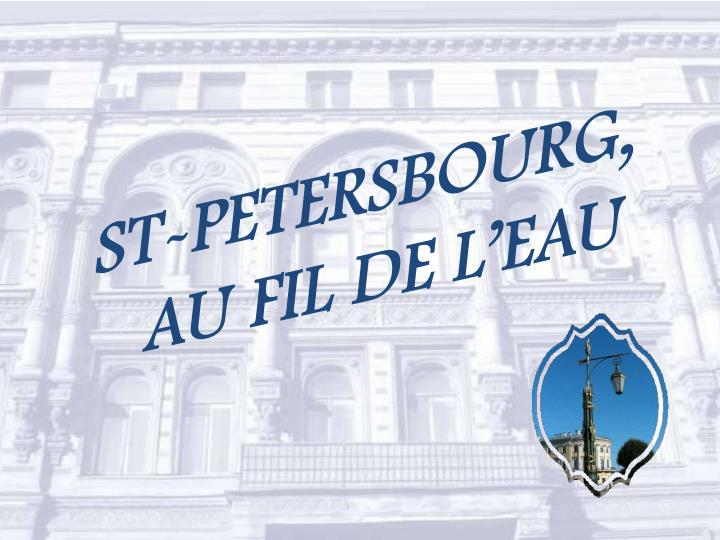 ST-PETERSBOURG,
