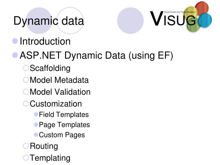 PPT - ASP.NET 3.5 SP1 Dynamic Data, Entity Framework and Data ...