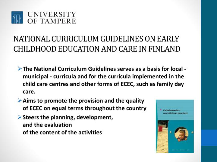 Ppt Early Childhood Education And Care In Finland Powerpoint