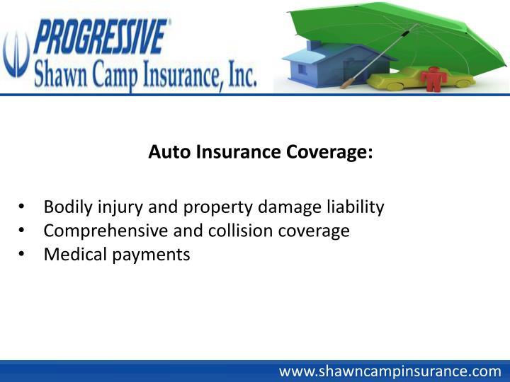 Auto Insurance Coverage: