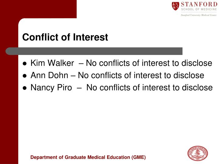 conflict of interest n.