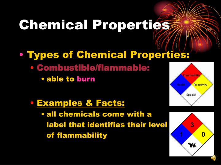 Ppt Chemical Amp Physical Properties Of Matter Powerpoint