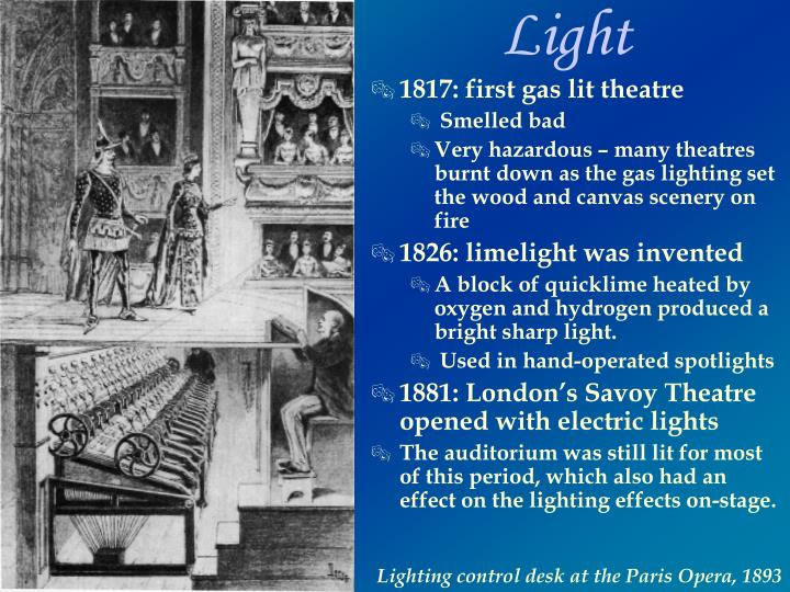 1817 first gas lit theatre  sc 1 st  SlideServe & PPT - Nineteenth-Century Theatre PowerPoint Presentation - ID:1803021
