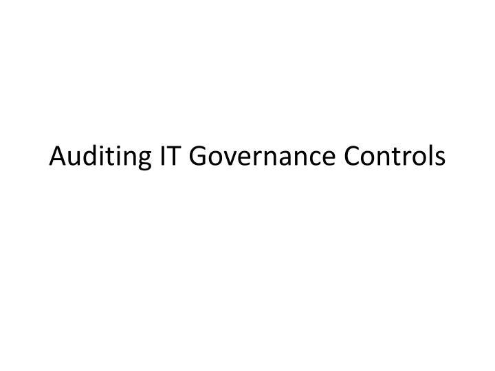 chapter 2 auditing it governance controls 2 reasons for conducting internal auditing:  part 1: the internal audit activity's role in governance, risk, and control  just go to the chapter for your book hit a particularly tricky question bookmark it to easily review again before an exam the best part as a chegg study subscriber, you can view available interactive solutions.