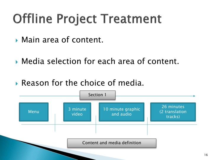 multimedia project proposal