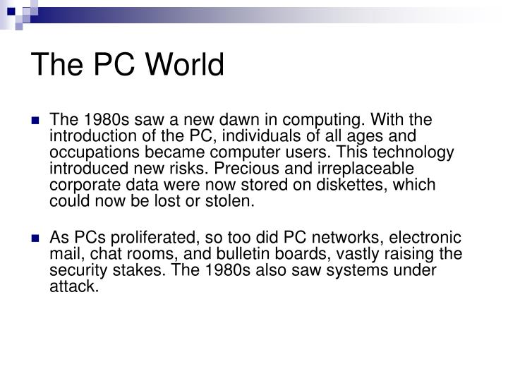 The PC World