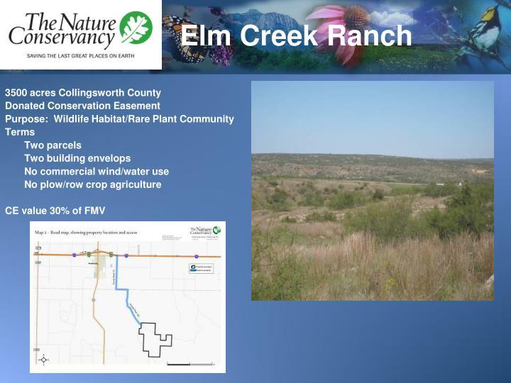 Elm Creek Ranch