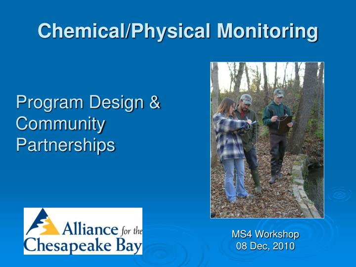 chemical physical monitoring n.