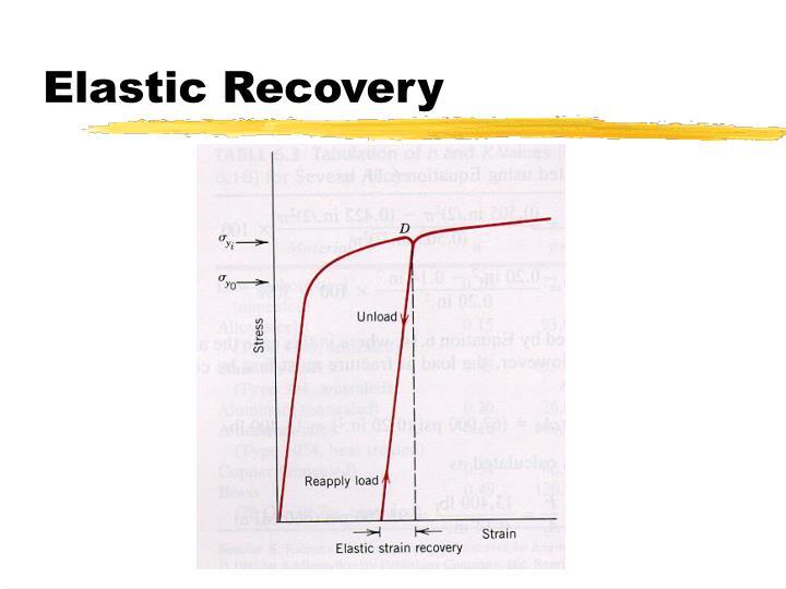 Elastic Recovery