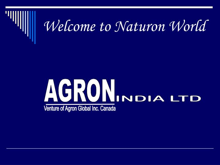 welcome to naturon world n.