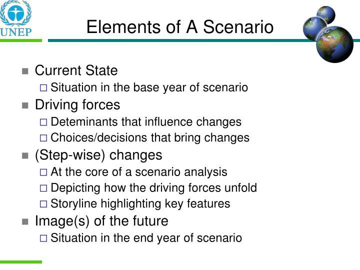 Elements of A Scenario