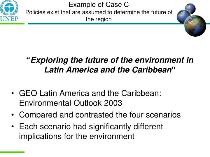Example of Case C