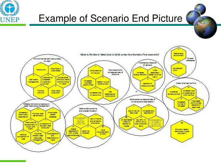 Example of Scenario End Picture