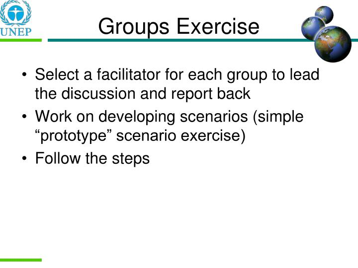 Groups Exercise
