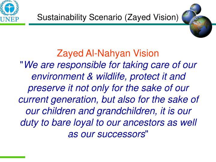 Sustainability Scenario (