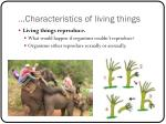characteristics of living things4