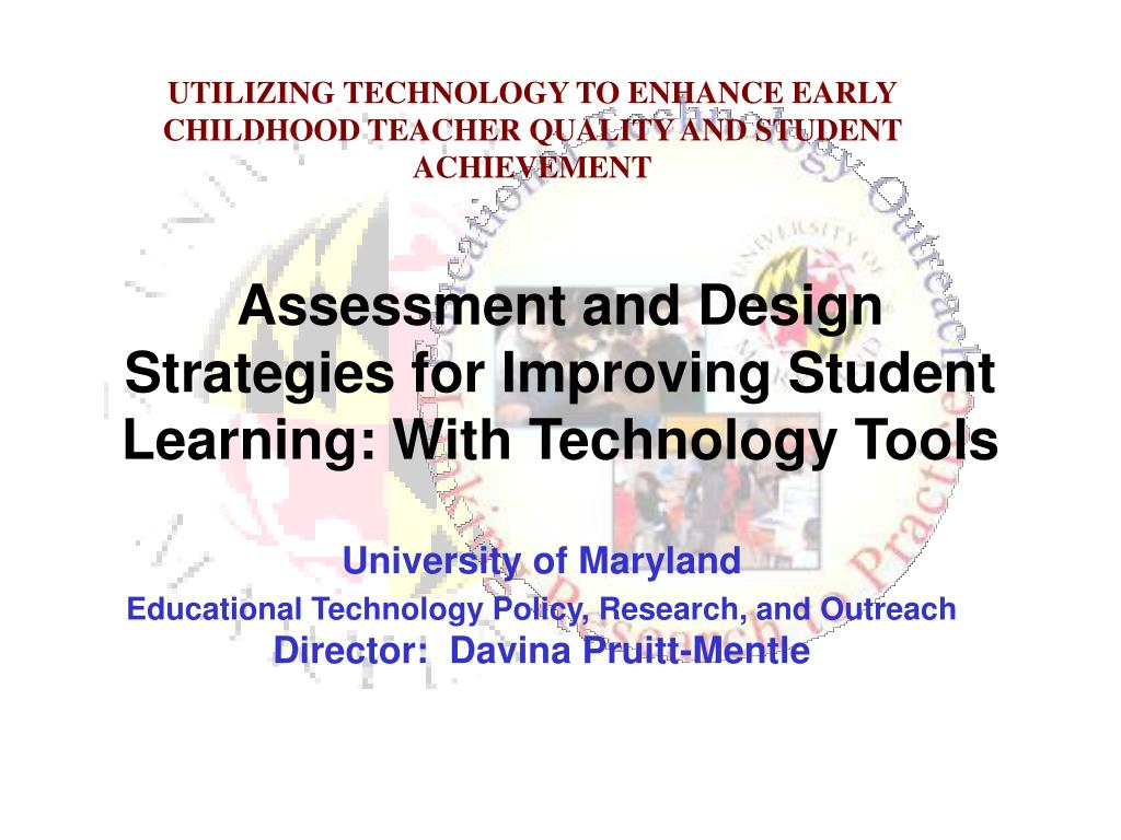 Ppt Assessment And Design Strategies For Improving Student