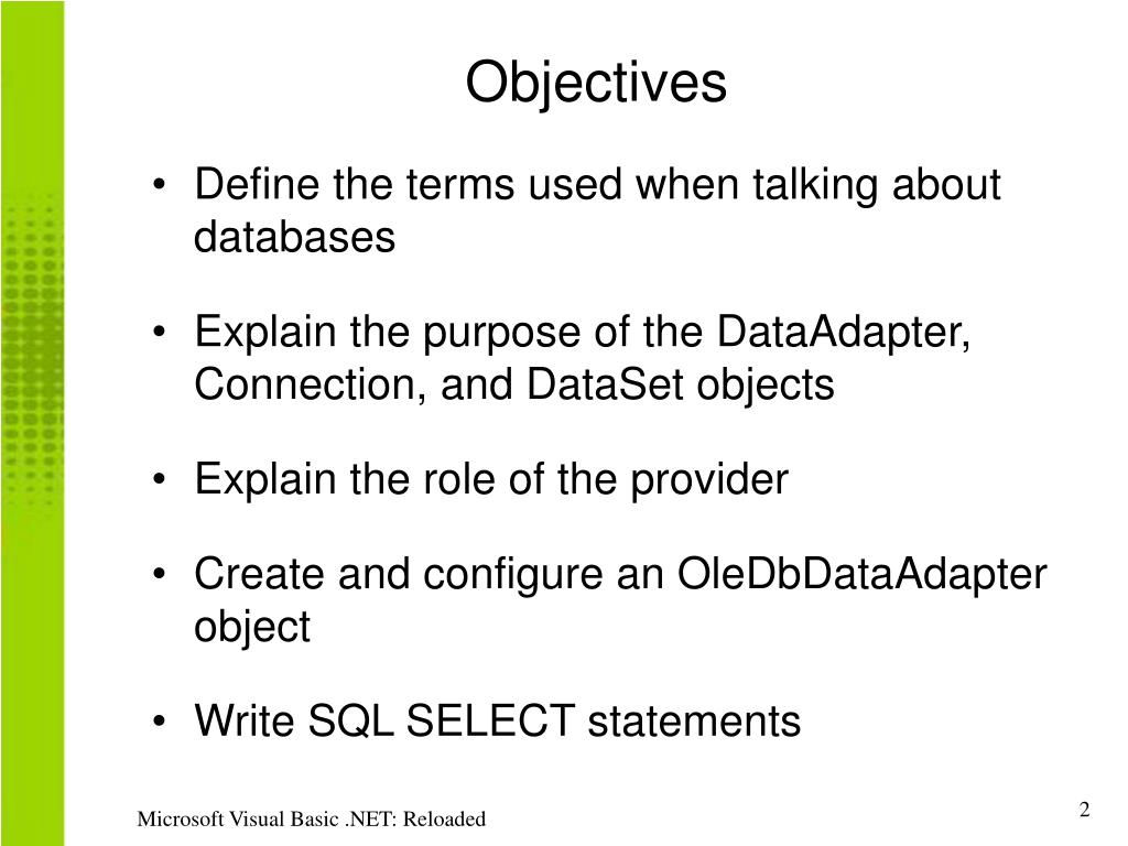 PPT - Objectives PowerPoint Presentation - ID:1804181