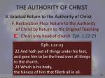 the authority of christ25