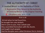 the authority of christ28